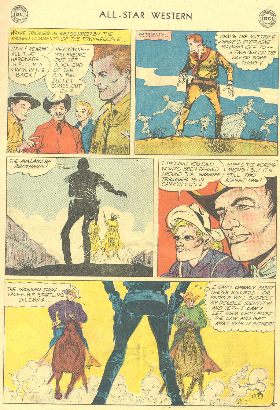 Read online All-Star Western (1951) comic -  Issue #105 - 7