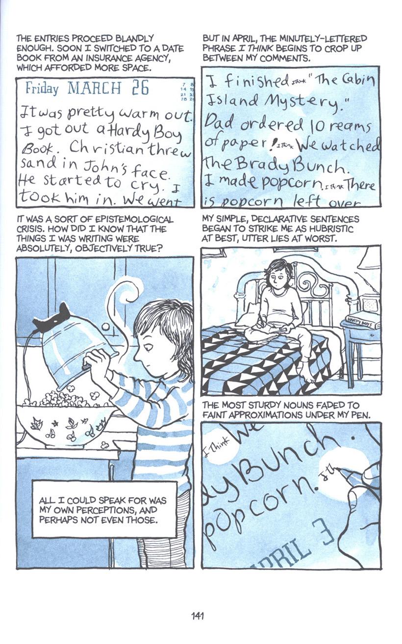 Read online Fun Home: A Family Tragicomic comic -  Issue # TPB - 147