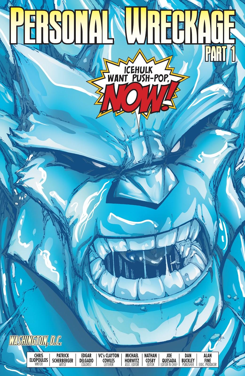 World War Hulks: Spider-Man vs. Thor Issue #1 #1 - English 26