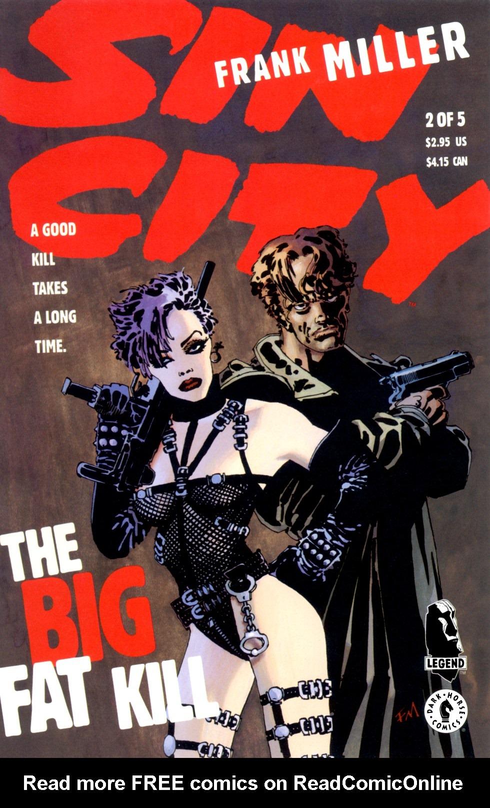 Read online Sin City: The Big Fat Kill comic -  Issue #2 - 1