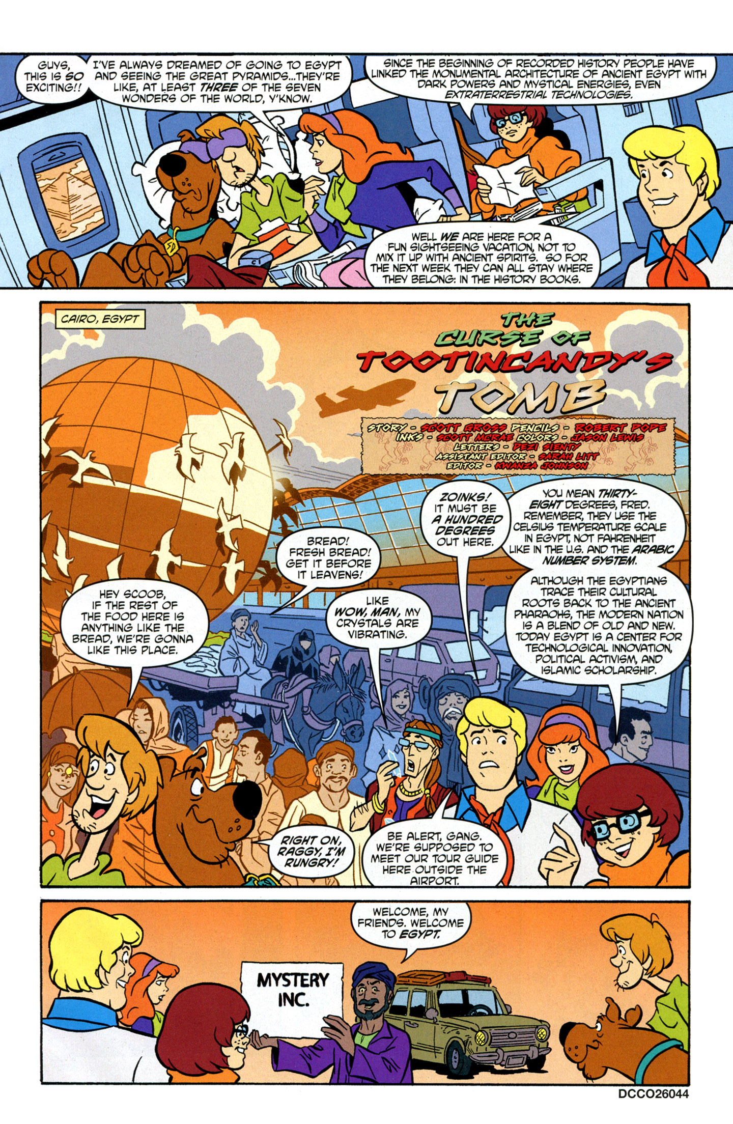 Read online Scooby-Doo: Where Are You? comic -  Issue #16 - 3