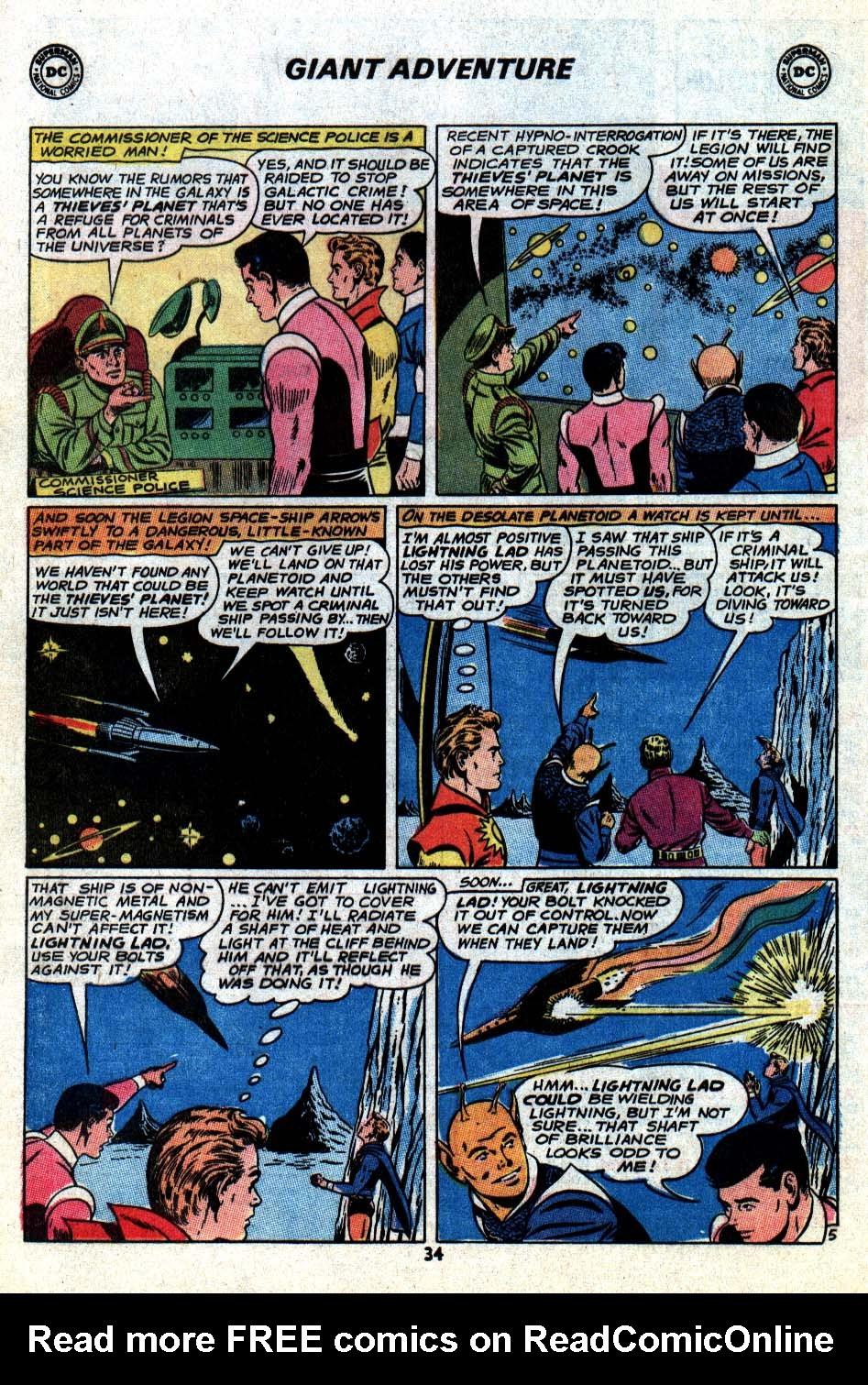 Read online Adventure Comics (1938) comic -  Issue #403 - 36