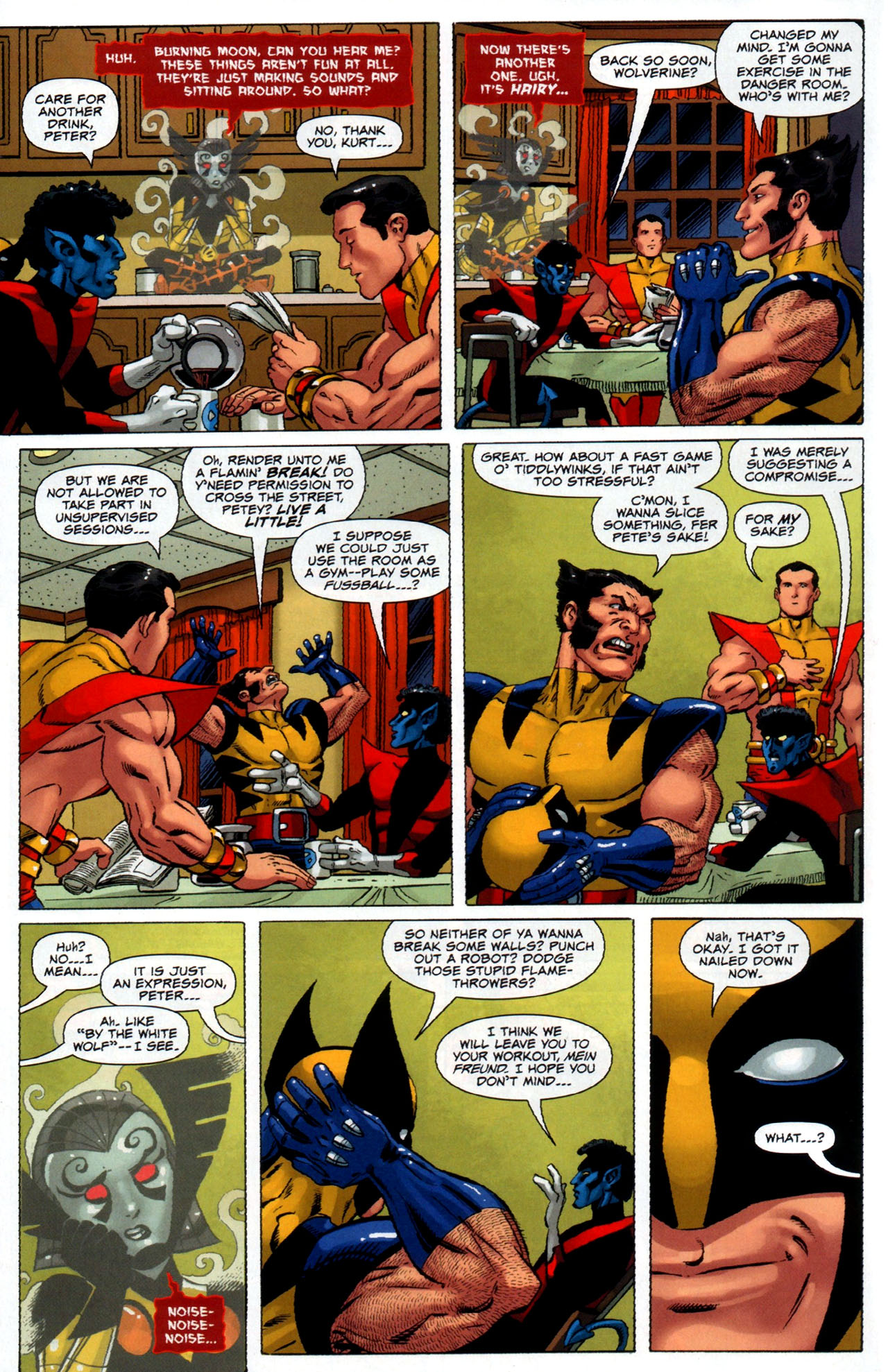Read online Uncanny X-Men: First Class comic -  Issue #5 - 8