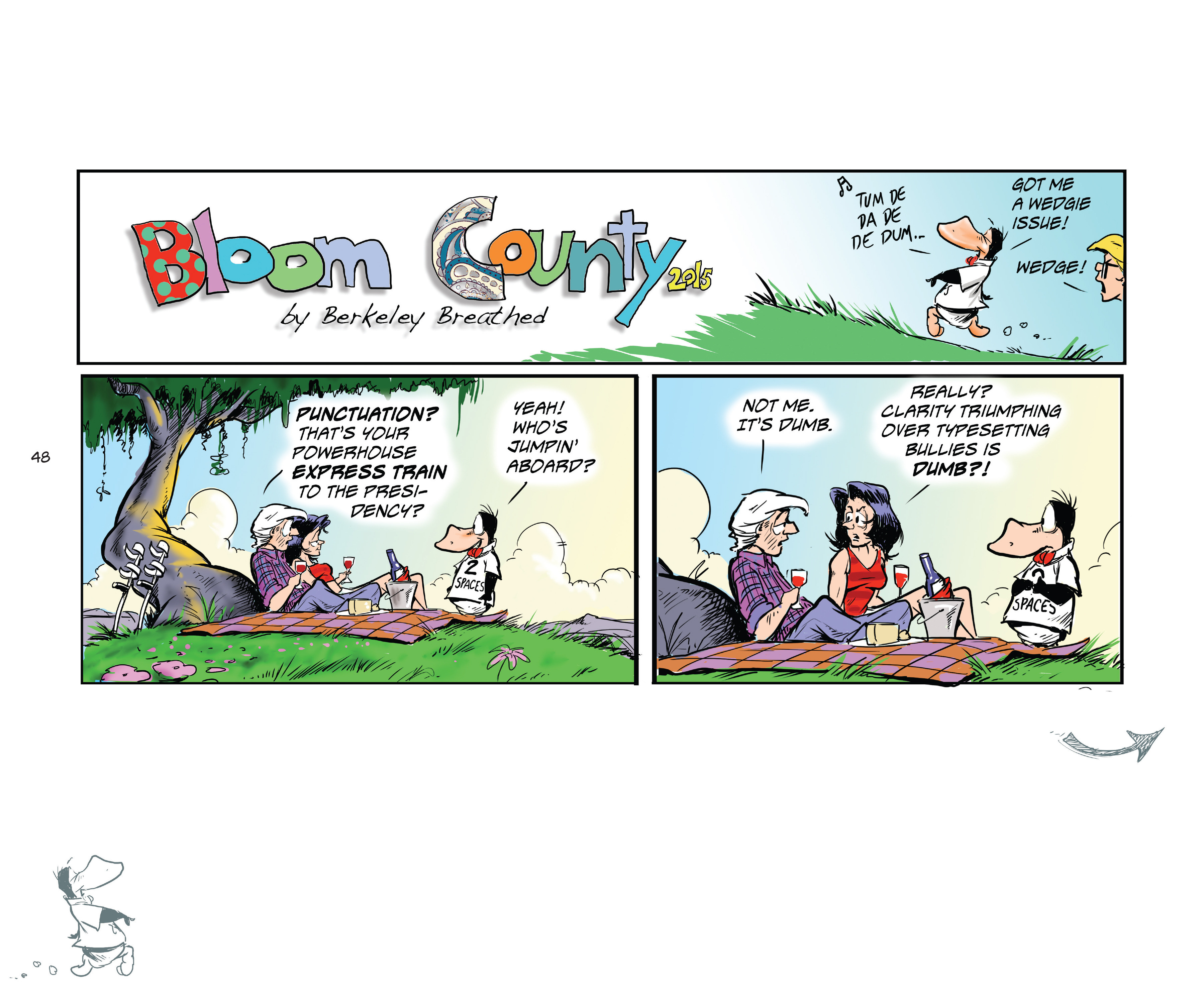 Read online Bloom County Episode XI: A New Hope comic -  Issue # Full - 50