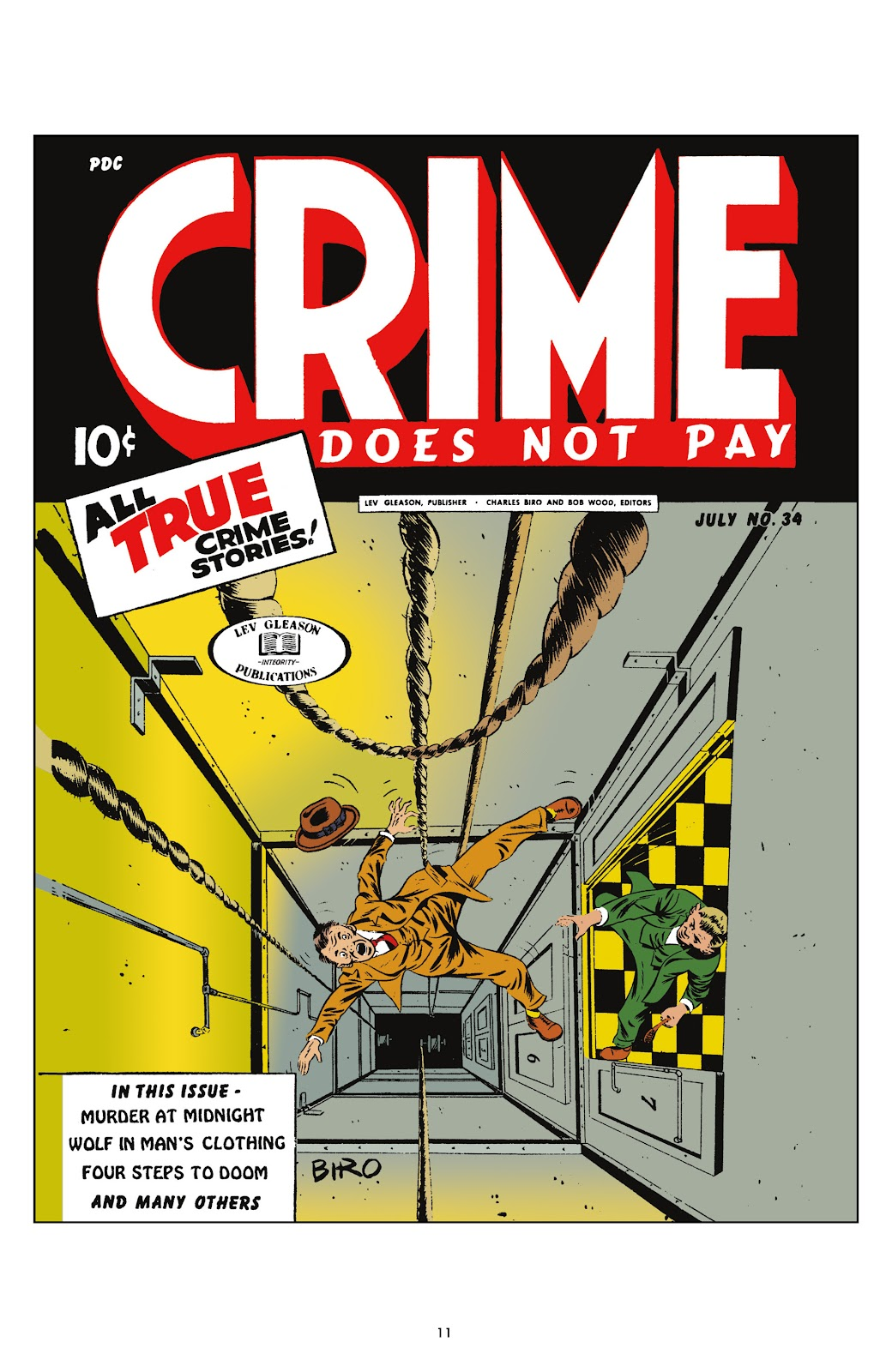 Read online Crime Does Not Pay Archives comic -  Issue # TPB 4 (Part 1) - 11