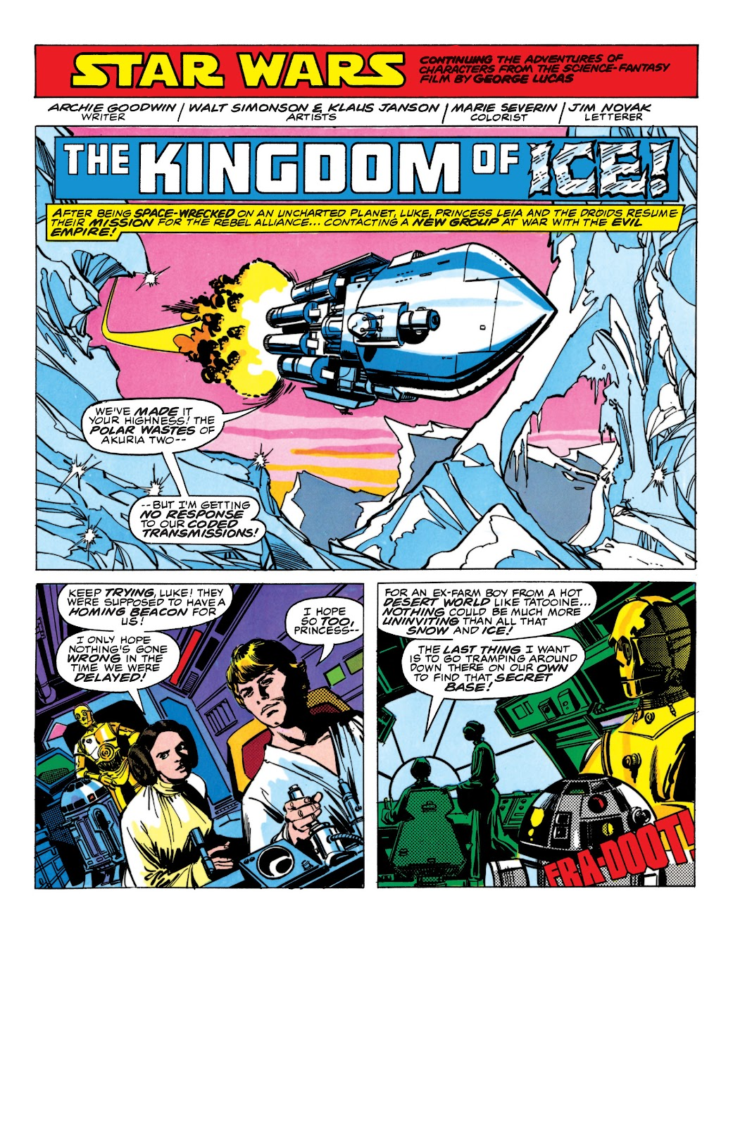 Read online Star Wars Legends: The Original Marvel Years - Epic Collection comic -  Issue # TPB 1 (Part 5) - 50