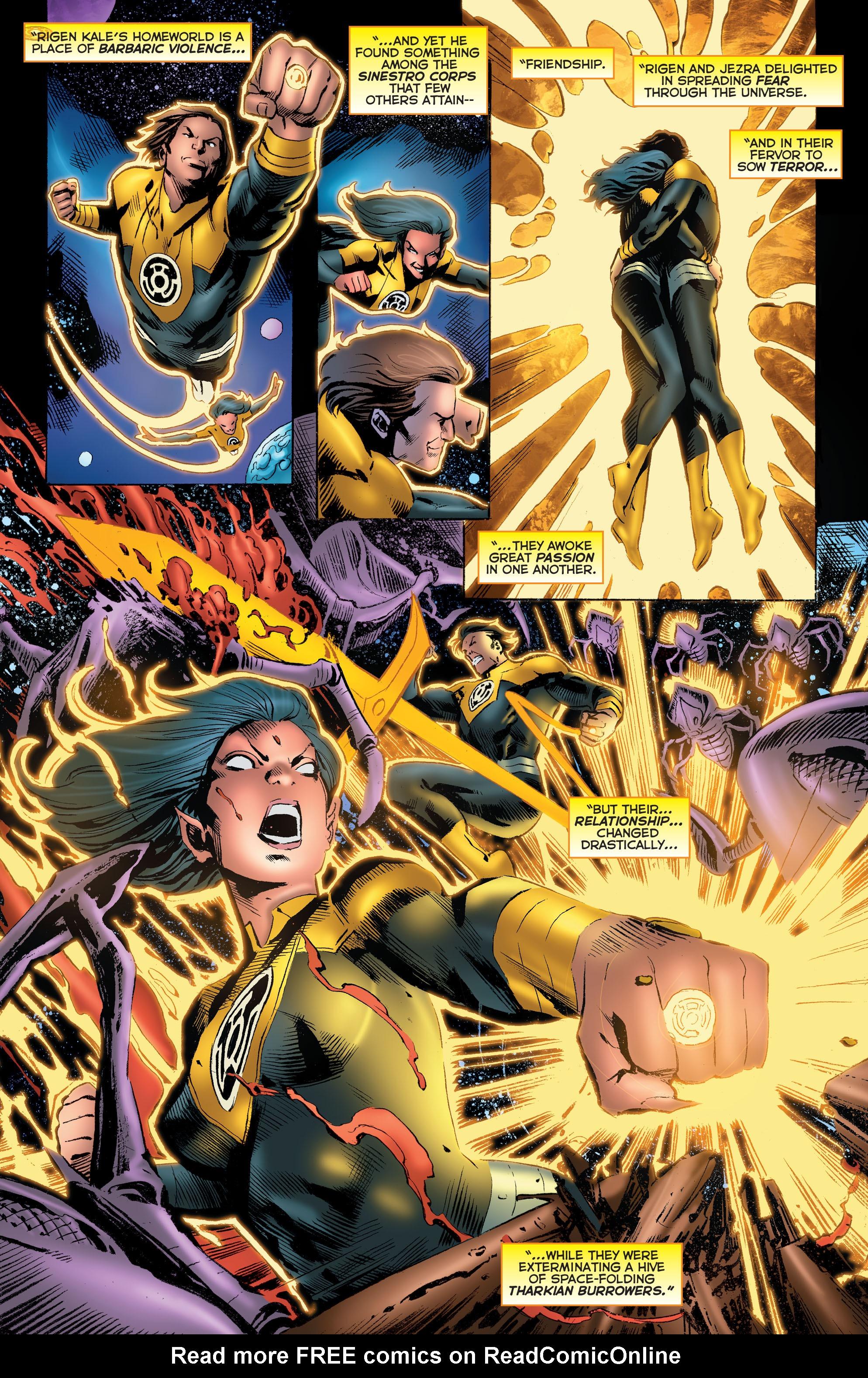 Read online Sinestro comic -  Issue # Annual 1 - 27
