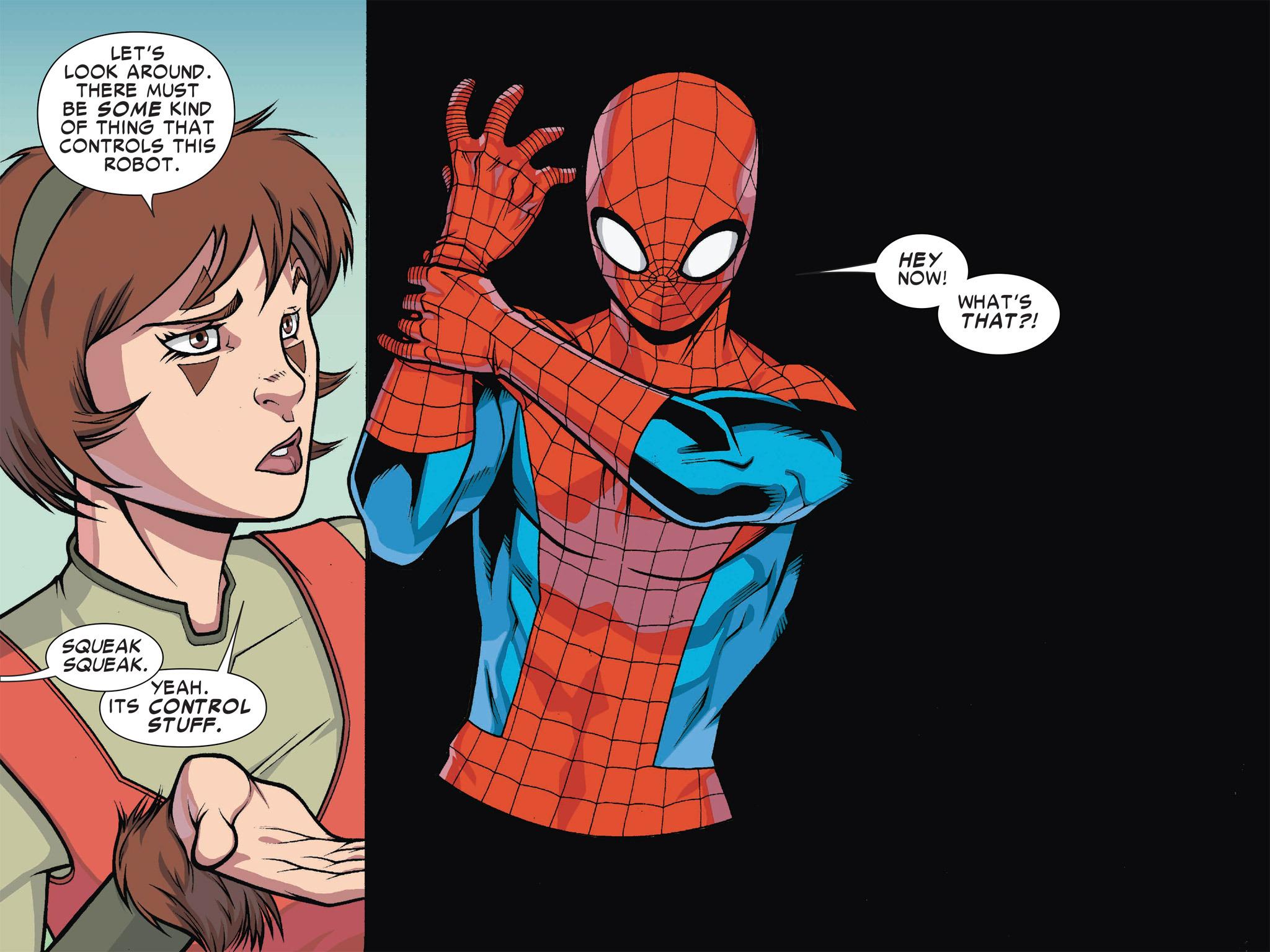 Read online Ultimate Spider-Man (Infinite Comics) (2016) comic -  Issue #1 - 22