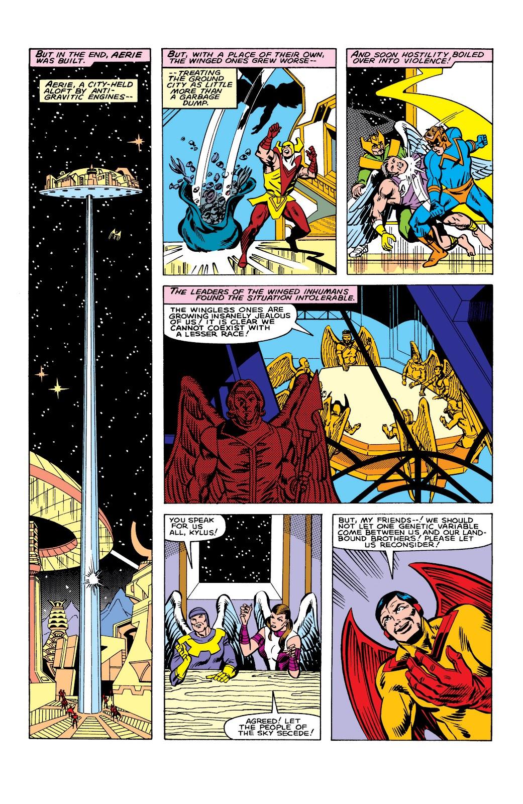 Read online Marvel Masterworks: The Inhumans comic -  Issue # TPB 2 (Part 3) - 99