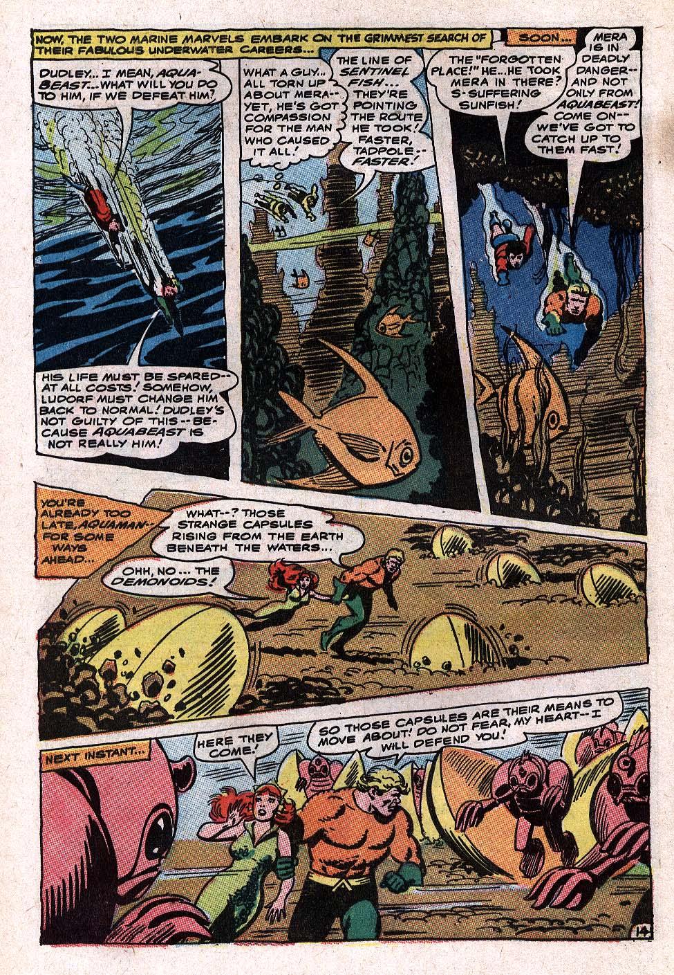 Read online Aquaman (1962) comic -  Issue #34 - 20