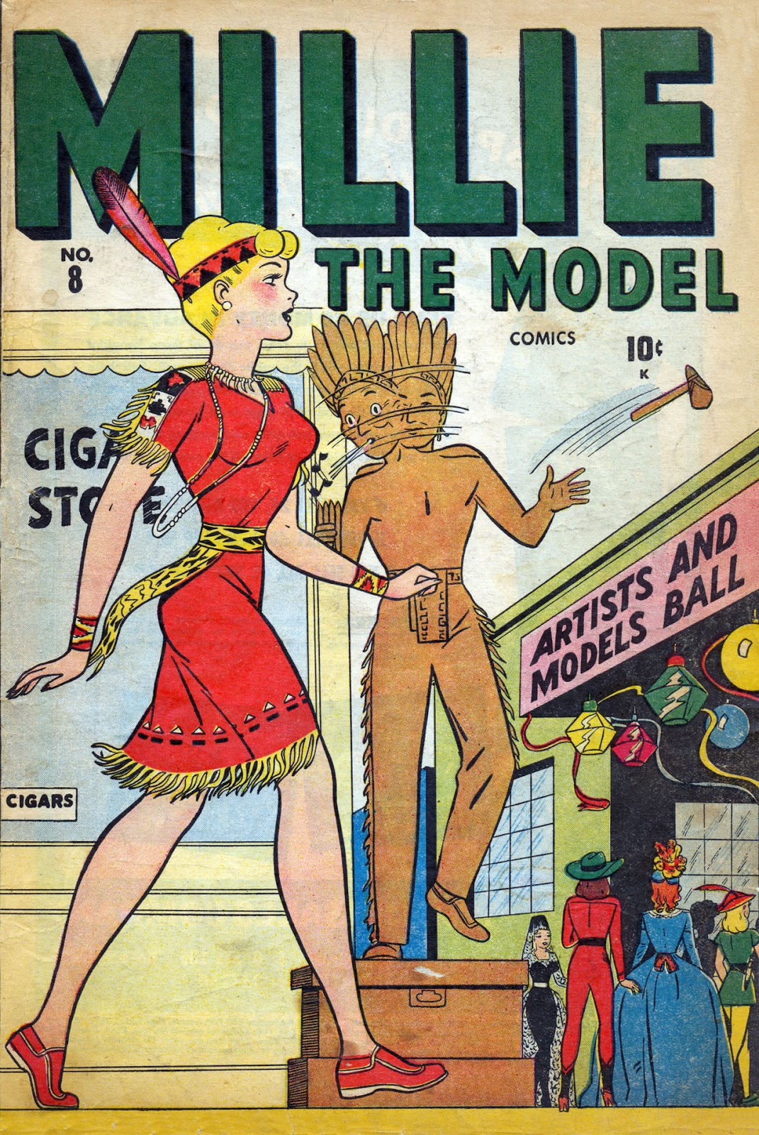 Read online Millie the Model comic -  Issue #8 - 1