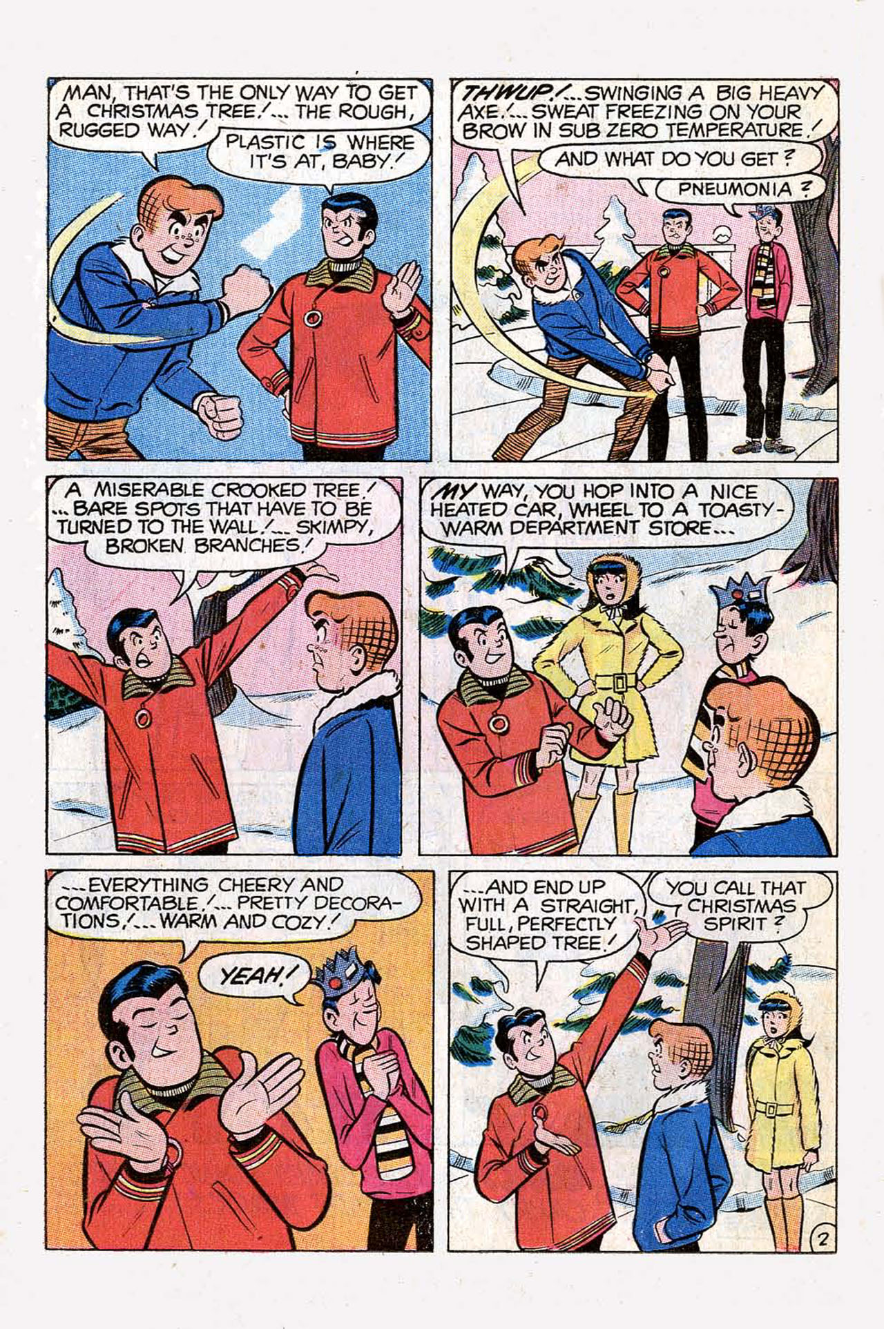 Read online Archie (1960) comic -  Issue #197 - 14