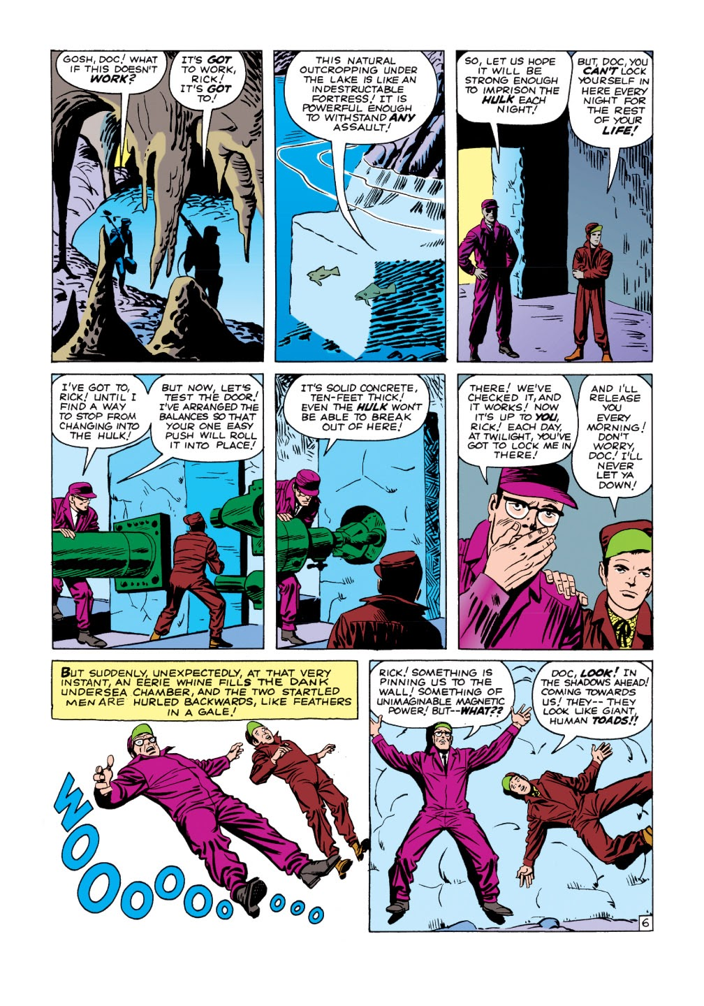Read online Marvel Masterworks: The Incredible Hulk comic -  Issue # TPB 1 (Part 1) - 34
