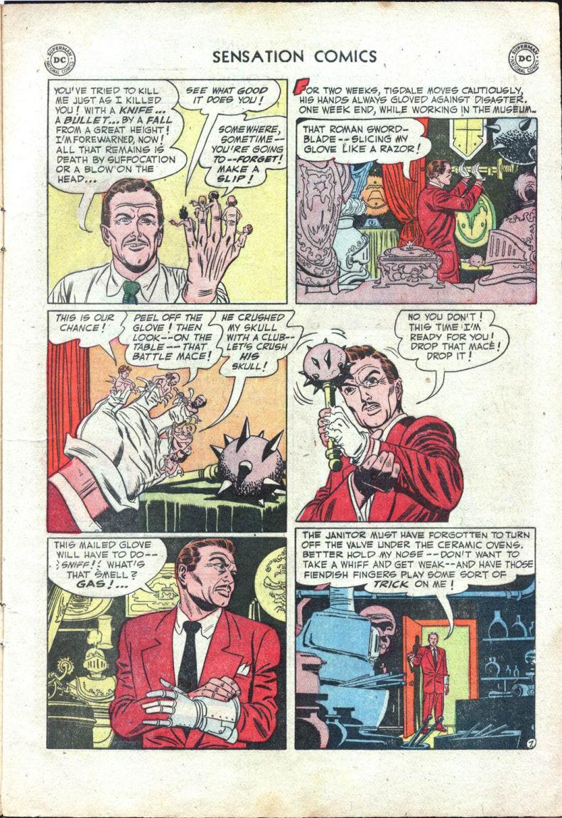 Read online Sensation (Mystery) Comics comic -  Issue #109 - 9