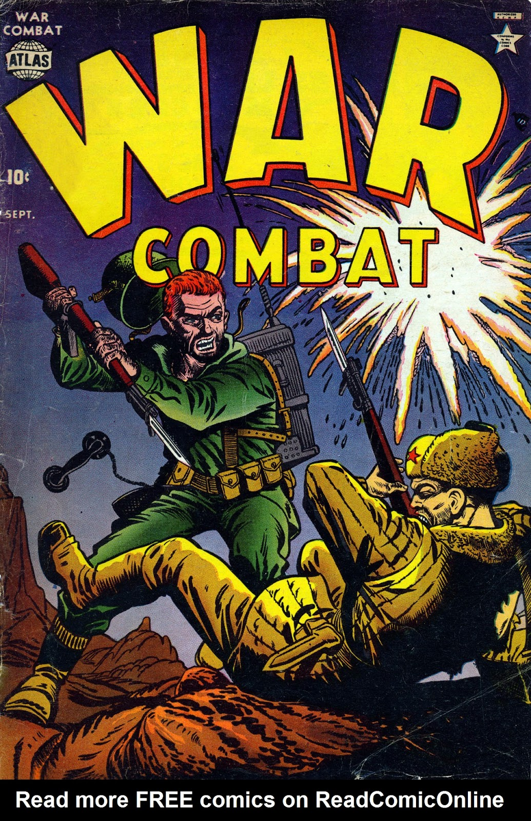 War Combat issue 4 - Page 1