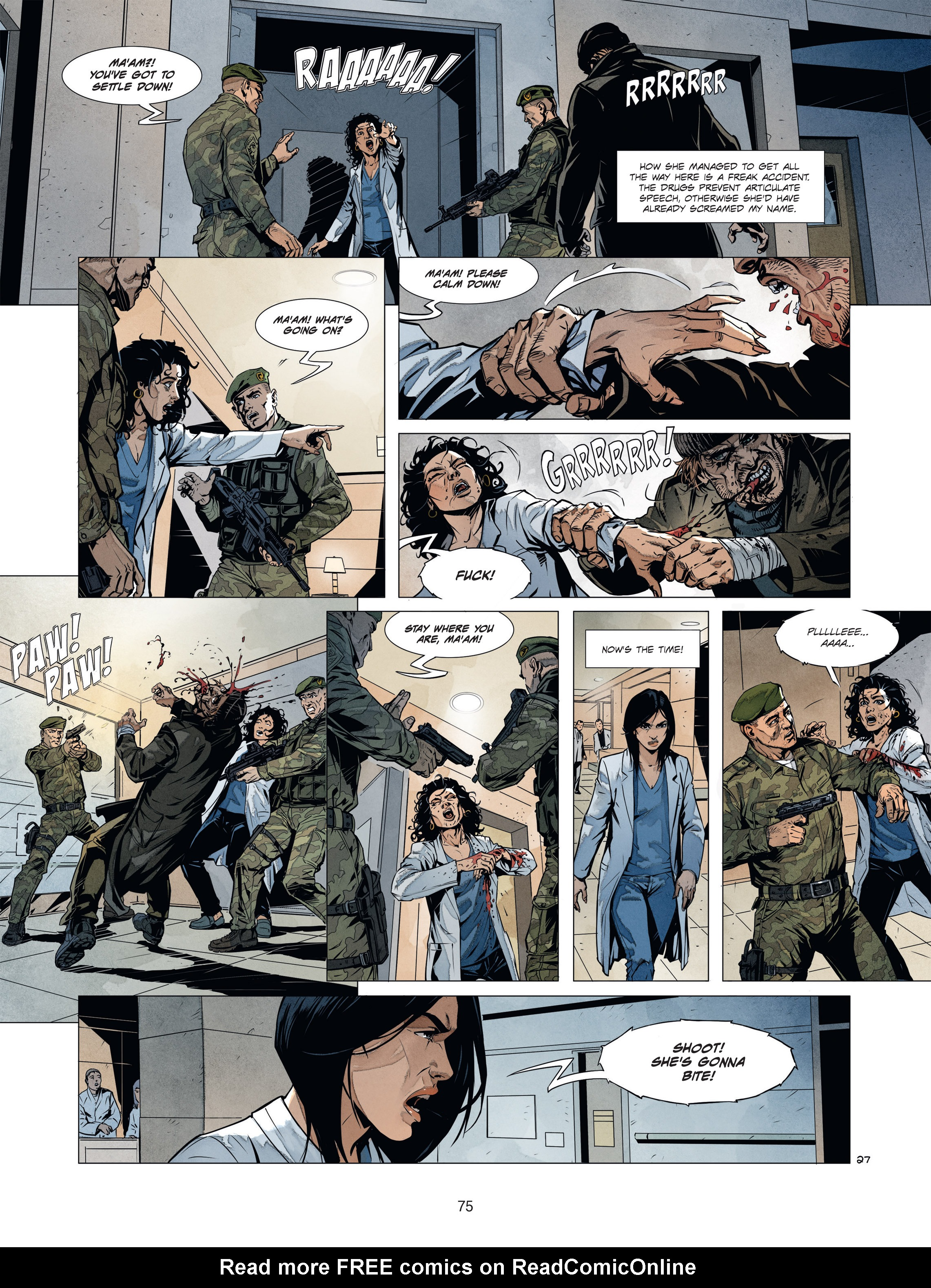 Read online Alice Matheson comic -  Issue #1 - 74