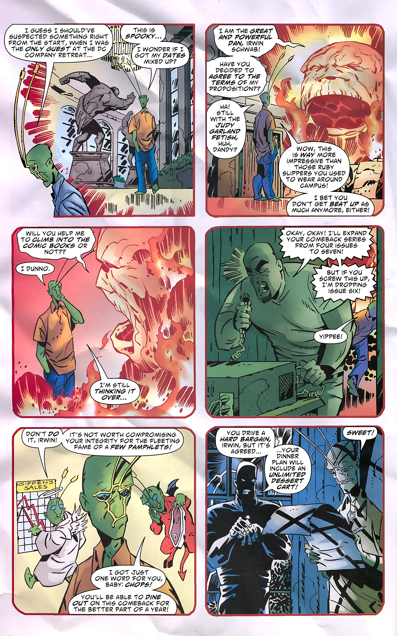 Read online Ambush Bug: Year None comic -  Issue #7 - 11
