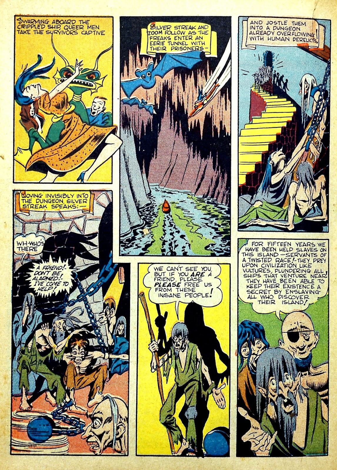 Read online Silver Streak Comics comic -  Issue #22 - 36