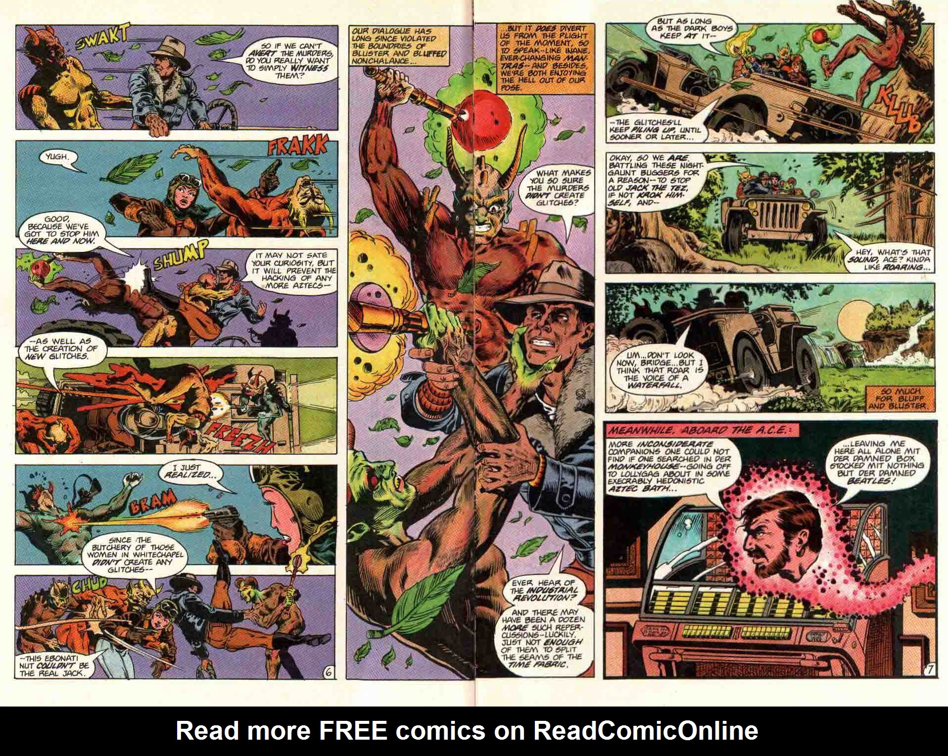 Read online Aztec Ace comic -  Issue #11 - 7