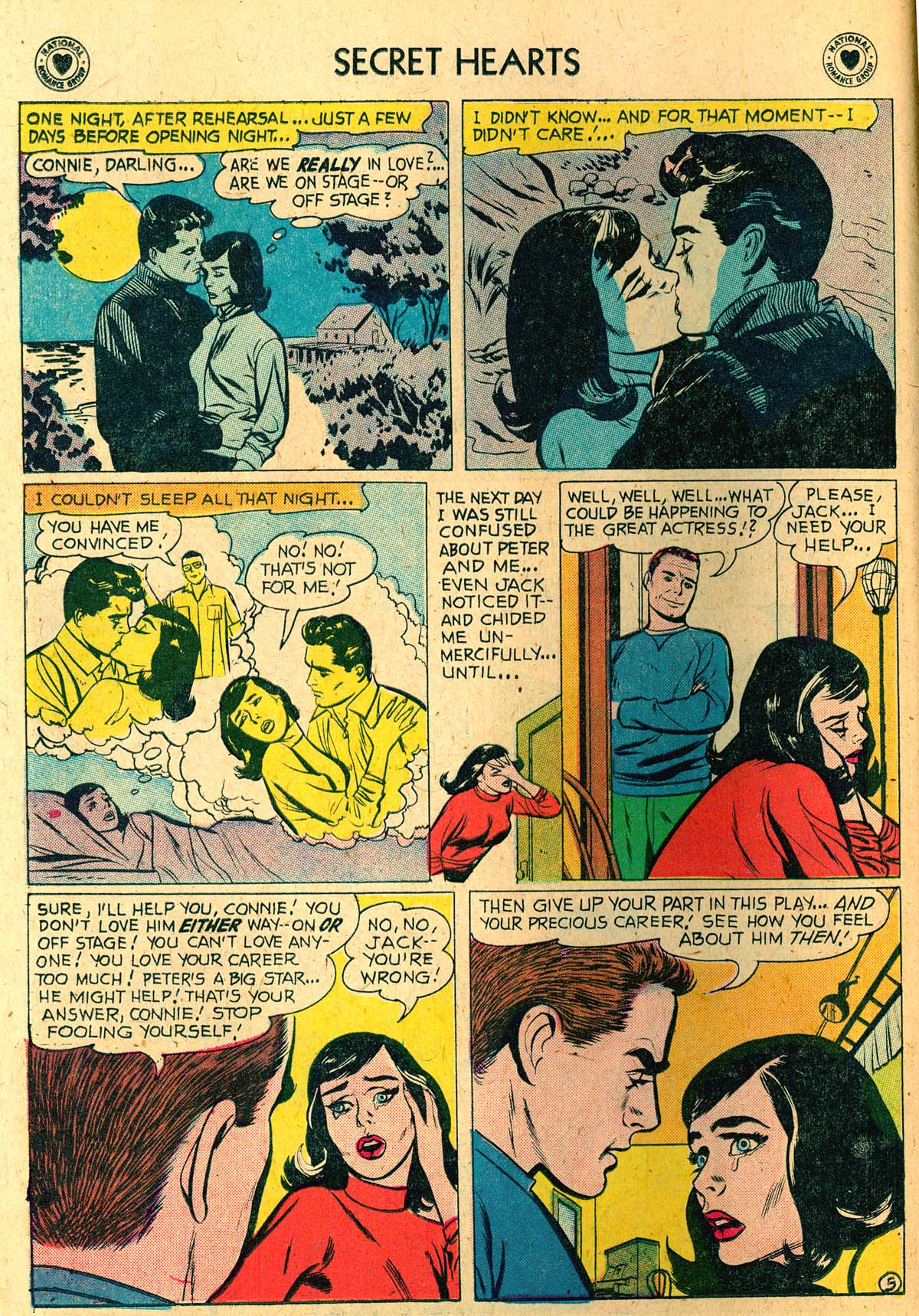 Read online Secret Hearts comic -  Issue #52 - 14