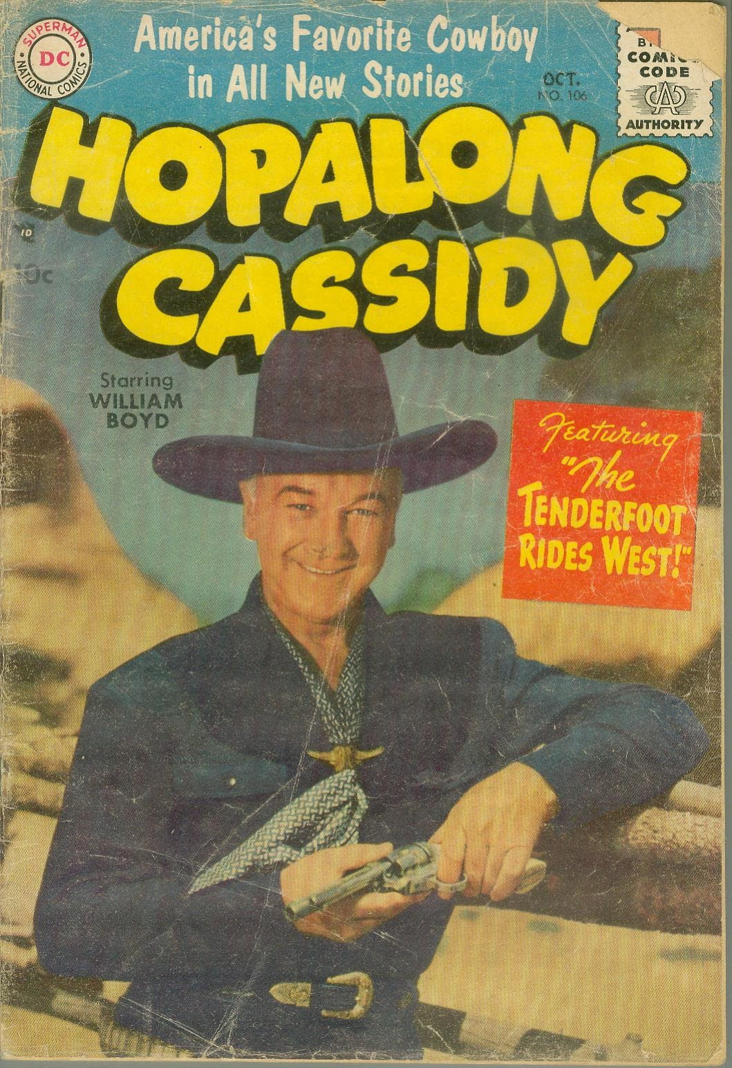 Hopalong Cassidy issue 106 - Page 1