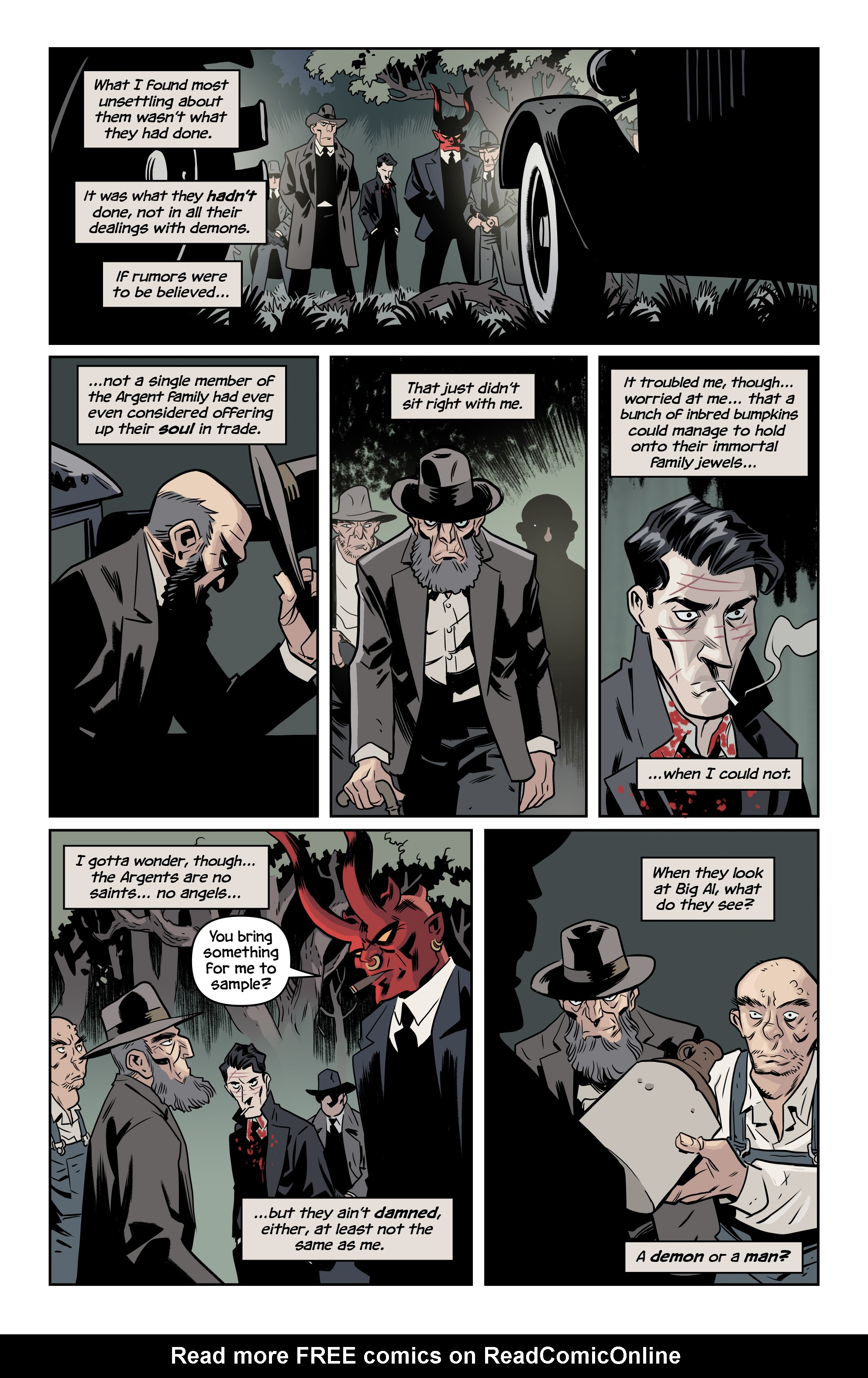 Read online The Damned comic -  Issue #2 - 11