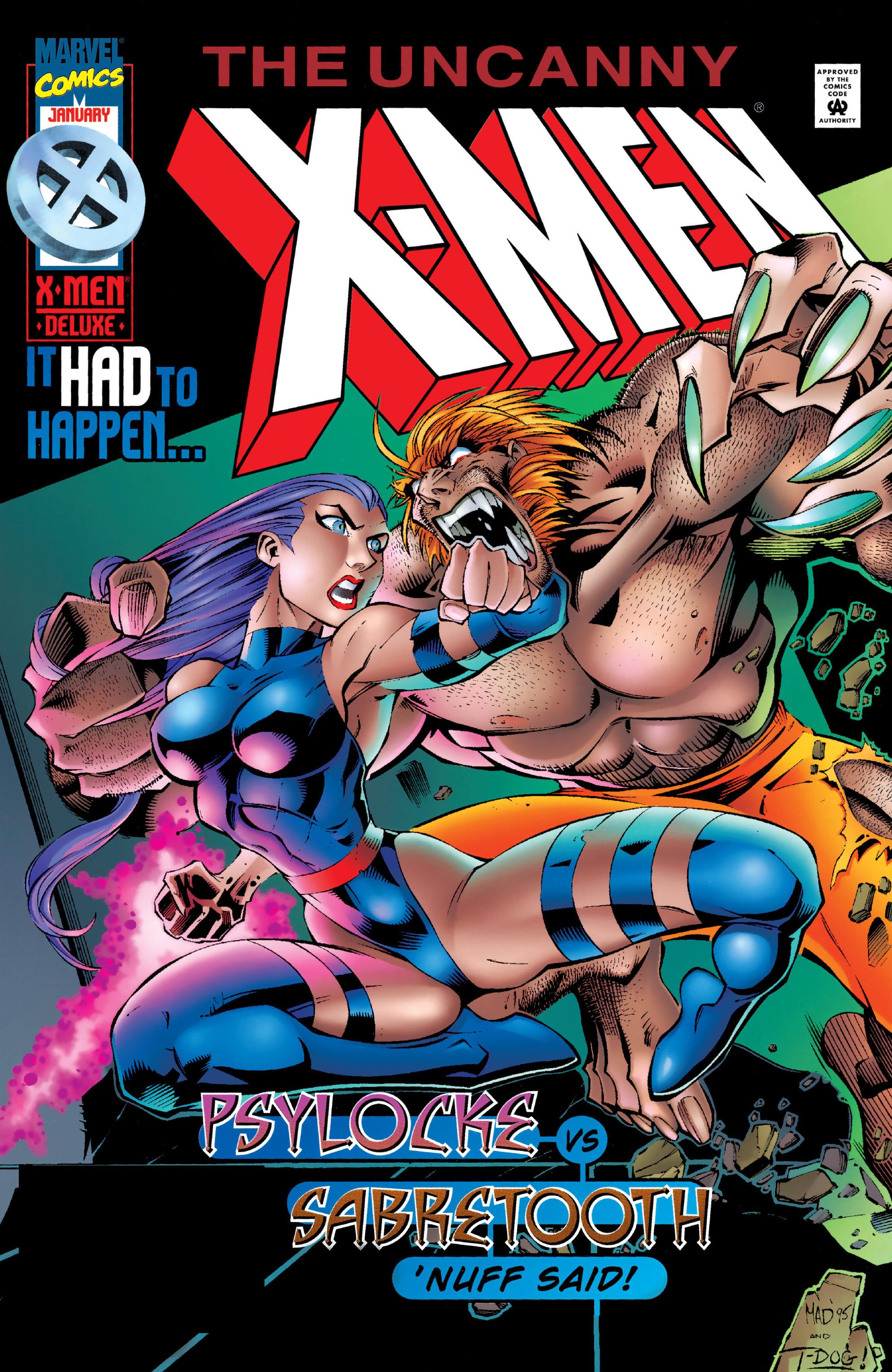 Read online Uncanny X-Men (1963) comic -  Issue #328 - 1