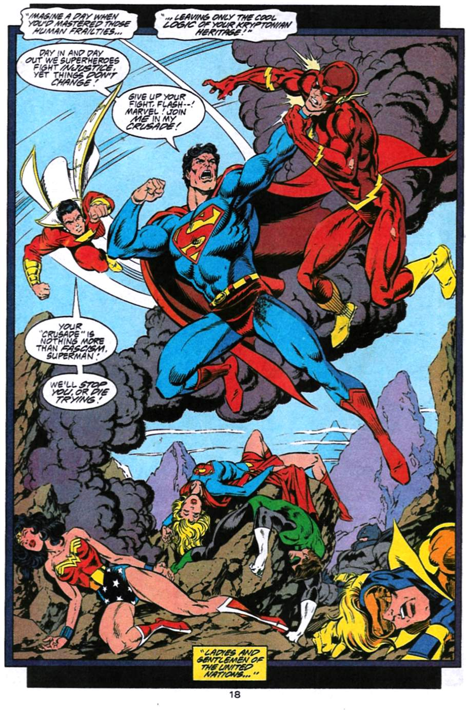 Read online Adventures of Superman (1987) comic -  Issue #494 - 19