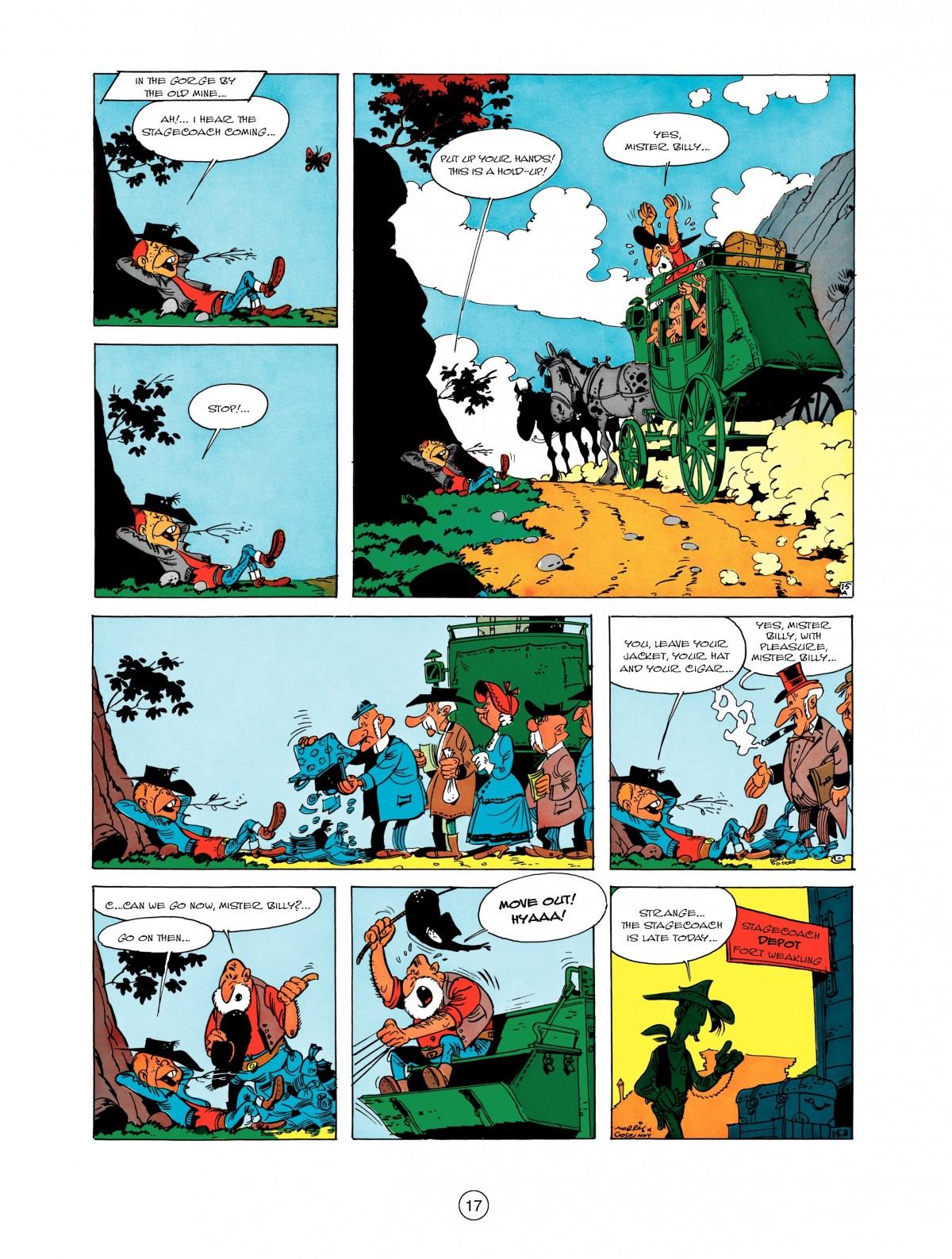Read online A Lucky Luke Adventure comic -  Issue #1 - 19