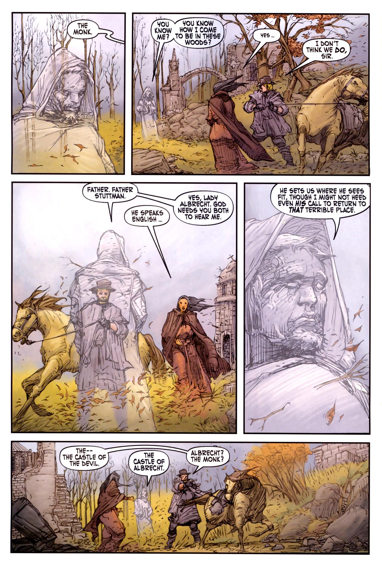 Read online Solomon Kane comic -  Issue #3 - 16
