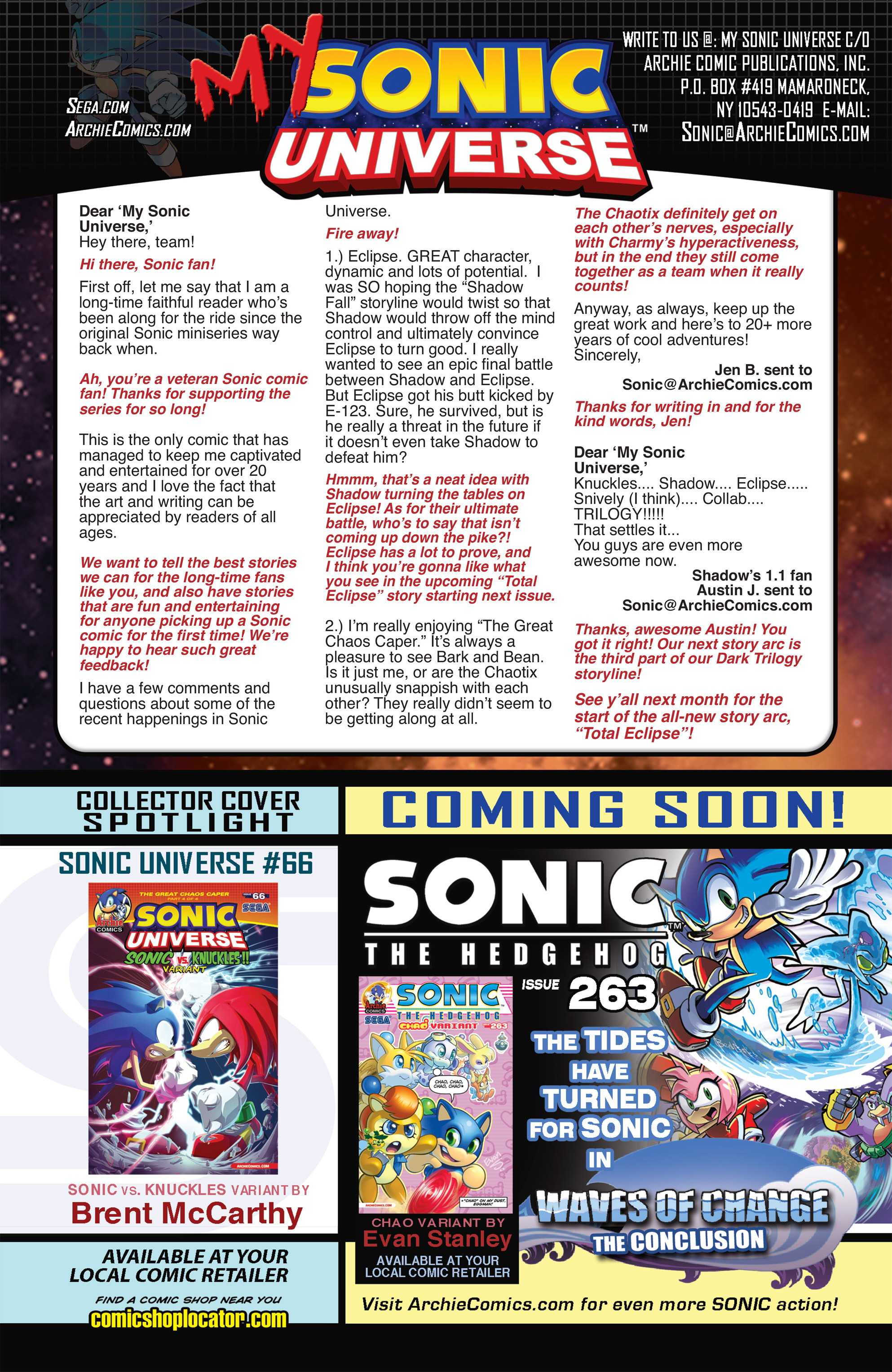 Read online Sonic Universe comic -  Issue #66 - 24