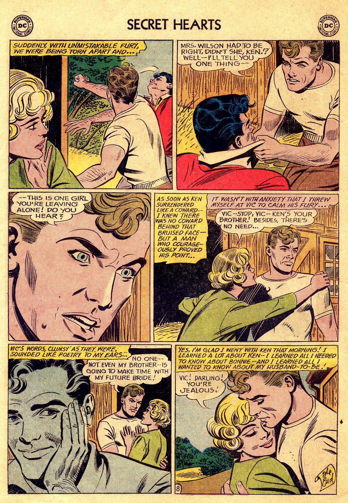 Read online Secret Hearts comic -  Issue #81 - 10