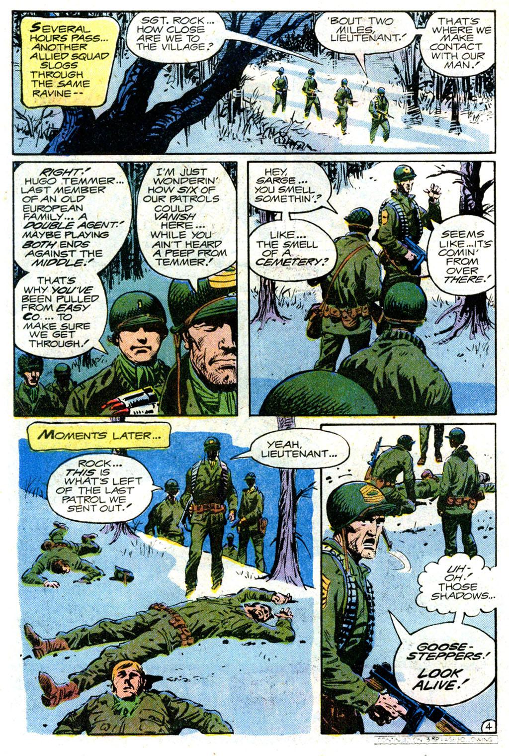 Read online Sgt. Rock comic -  Issue #354 - 4