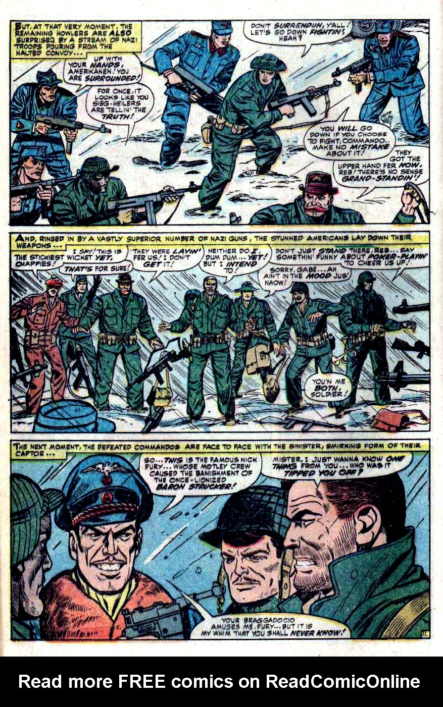Read online Sgt. Fury comic -  Issue #32 - 16