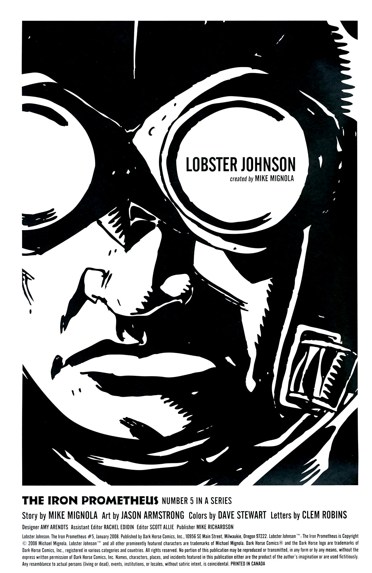 Read online Lobster Johnson: The Iron Prometheus comic -  Issue #5 - 2