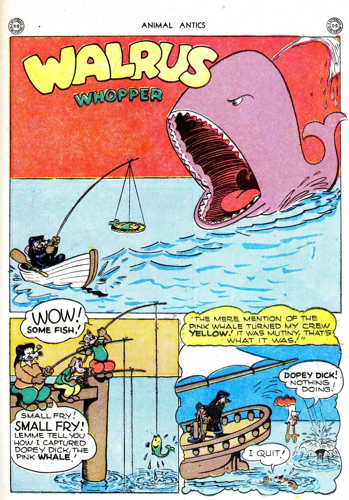 Read online Animal Antics comic -  Issue #1 - 27