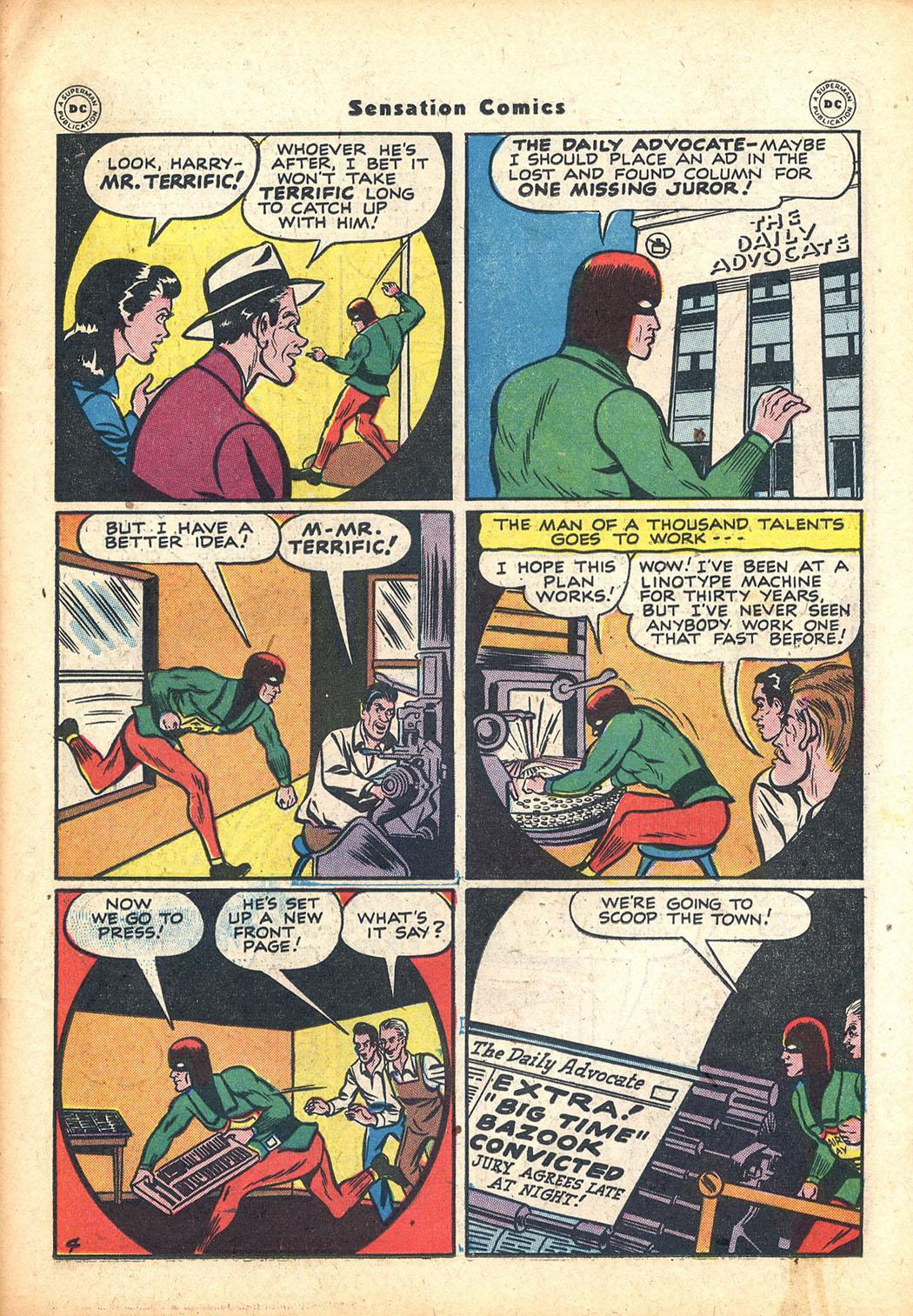 Read online Sensation (Mystery) Comics comic -  Issue #63 - 35