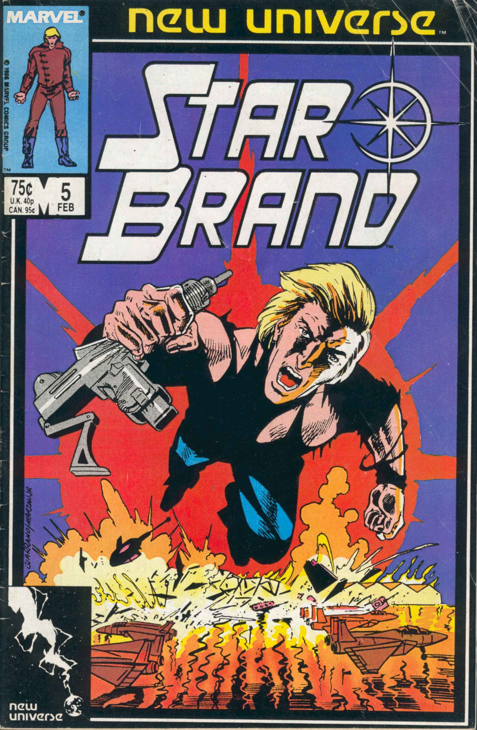 Read online Star Brand comic -  Issue #5 - 1