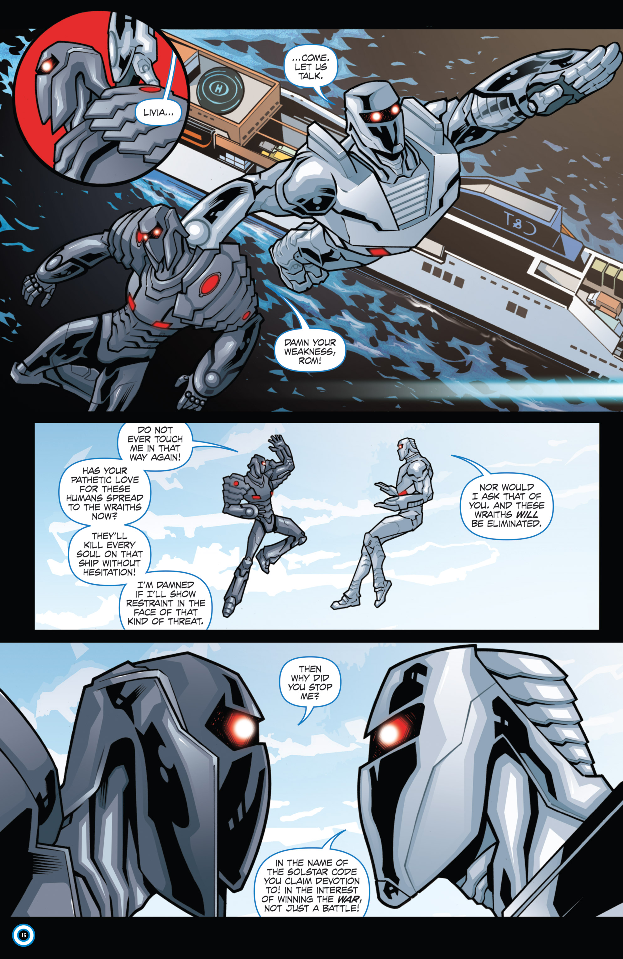 Read online ROM (2016) comic -  Issue #11 - 18