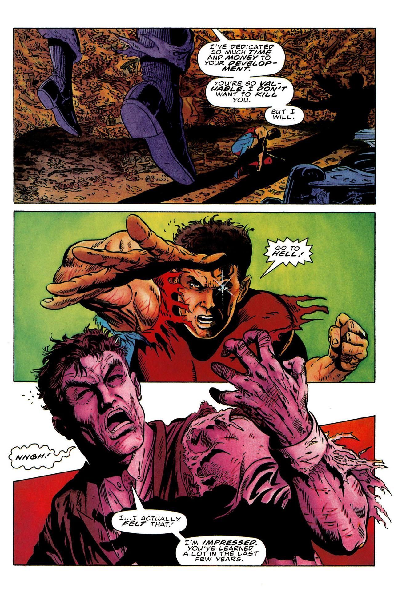 Read online Harbinger (1992) comic -  Issue #25 - 27