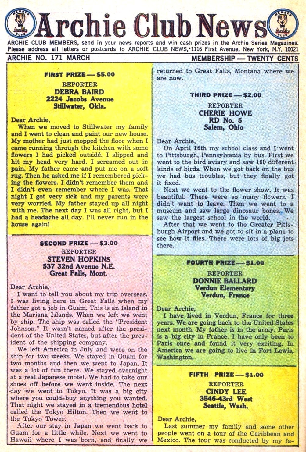 Read online Archie (1960) comic -  Issue #171 - 10