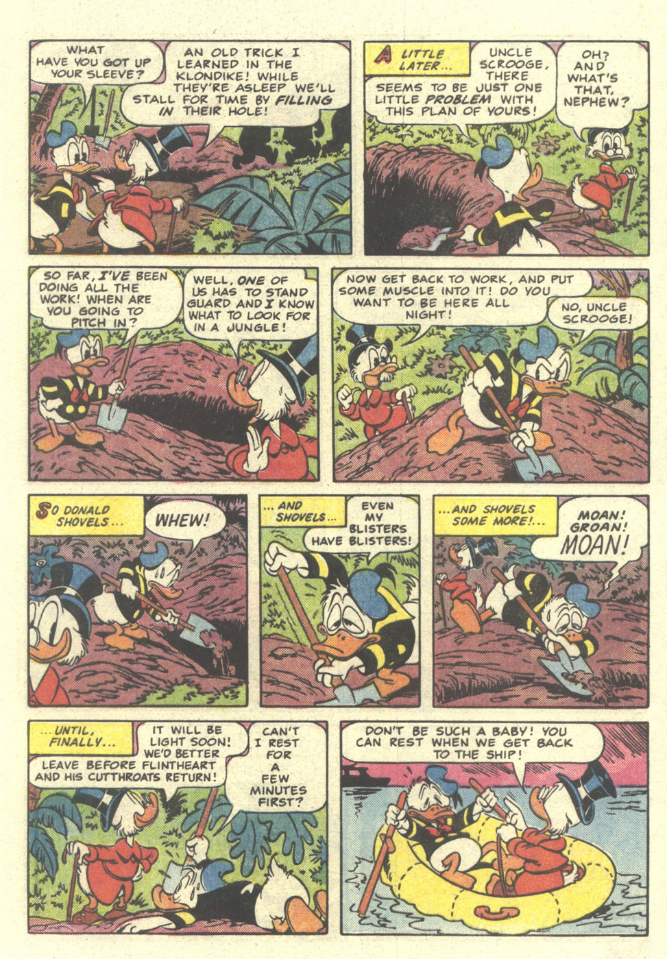 Read online Uncle Scrooge (1953) comic -  Issue #212 - 9