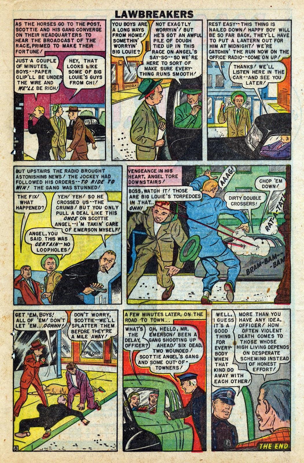Lawbreakers Always Lose! issue 9 - Page 19