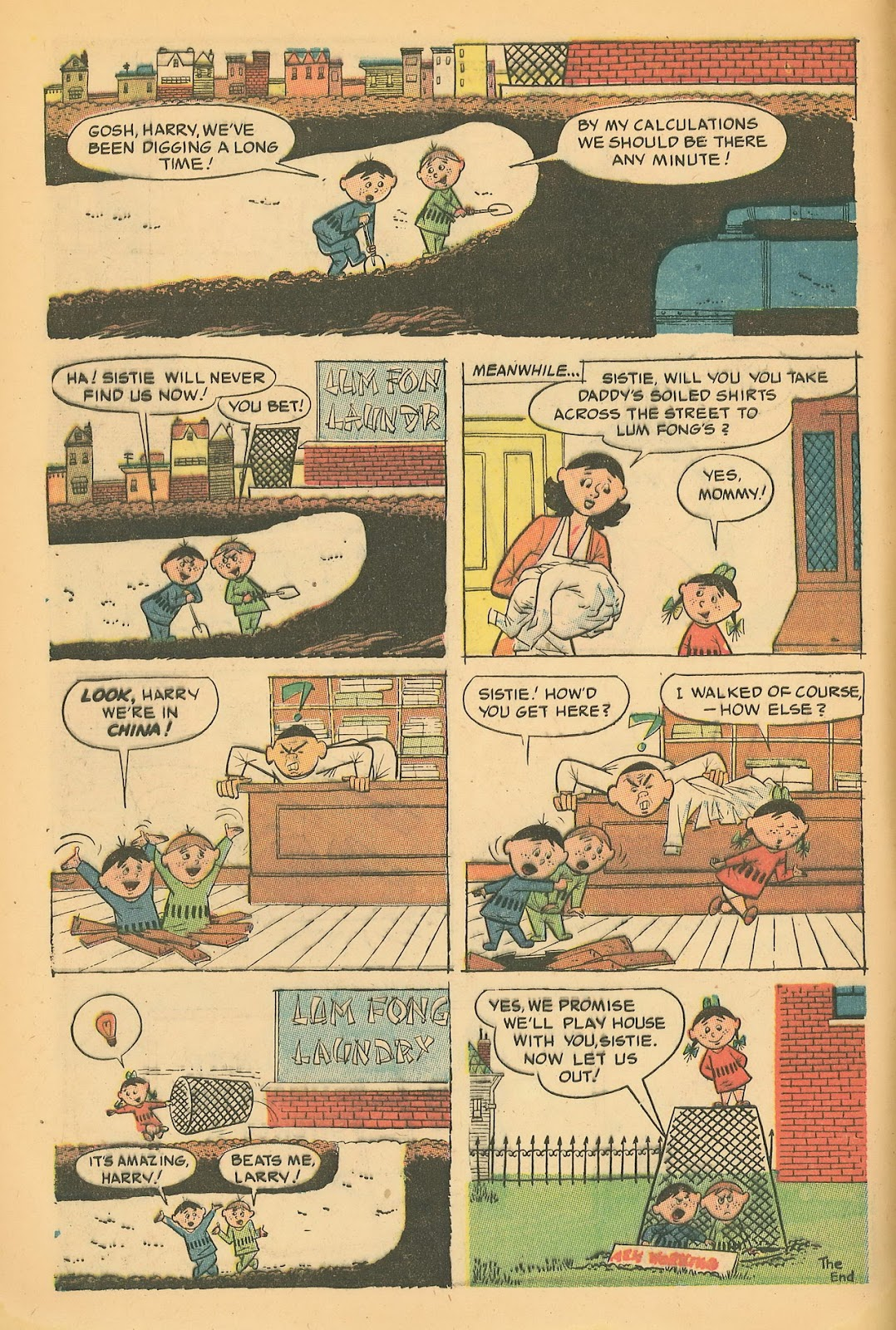 Read online Famous Funnies comic -  Issue #218 - 8