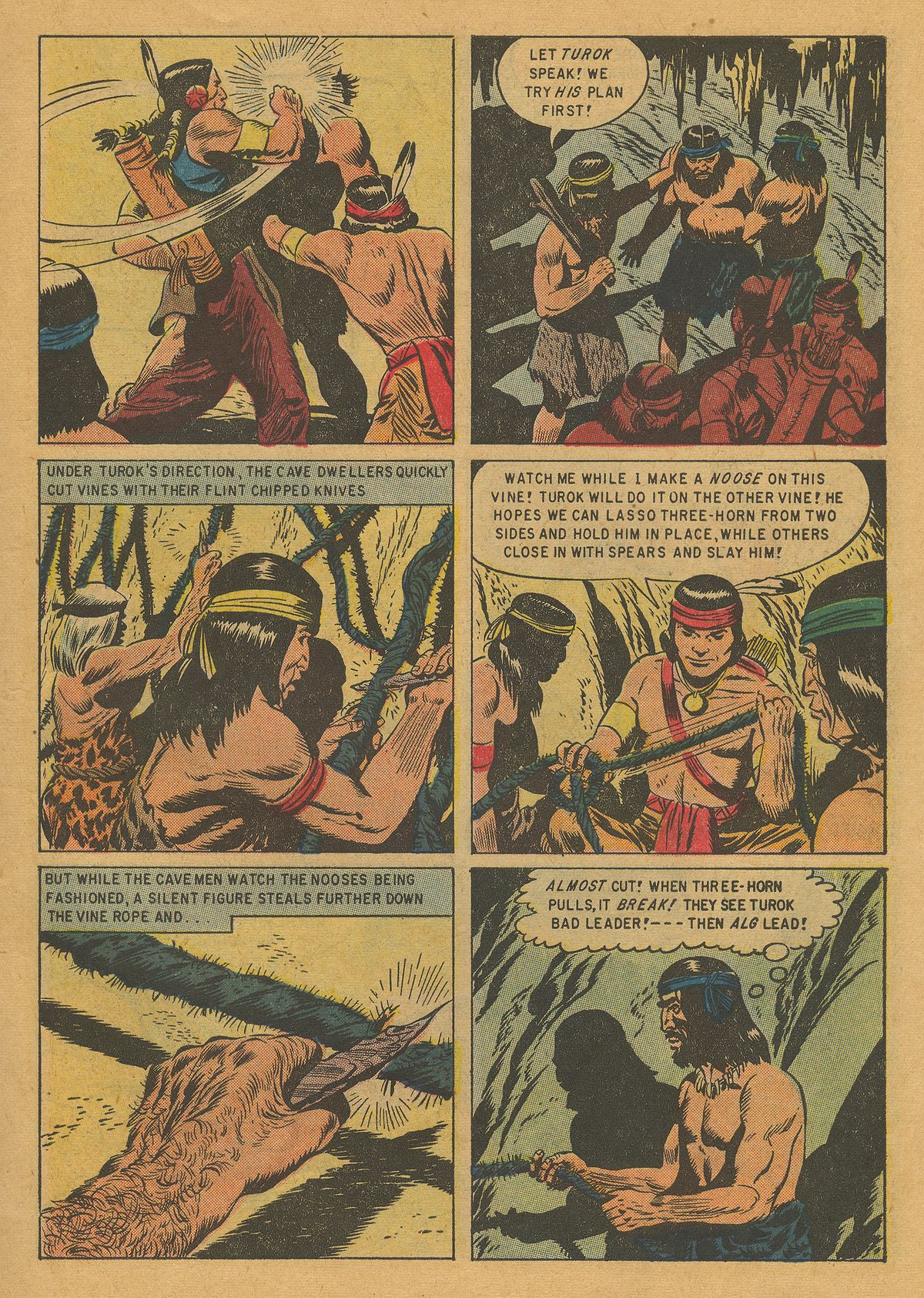 Read online Turok, Son of Stone comic -  Issue #10 - 7
