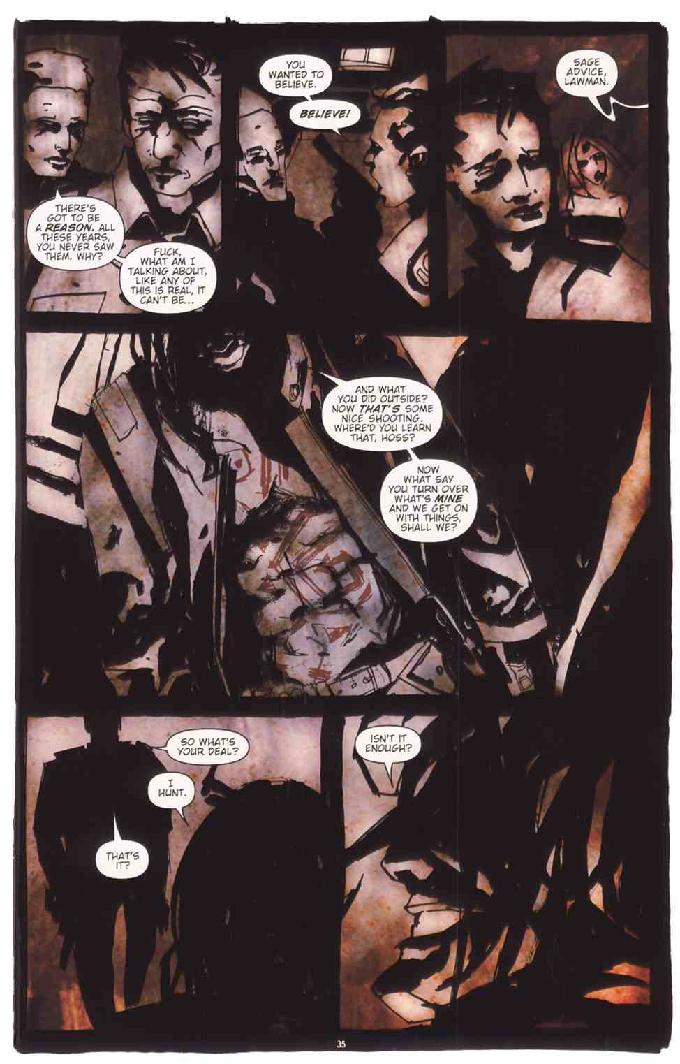 Read online Silent Hill: The Grinning Man comic -  Issue # Full - 37