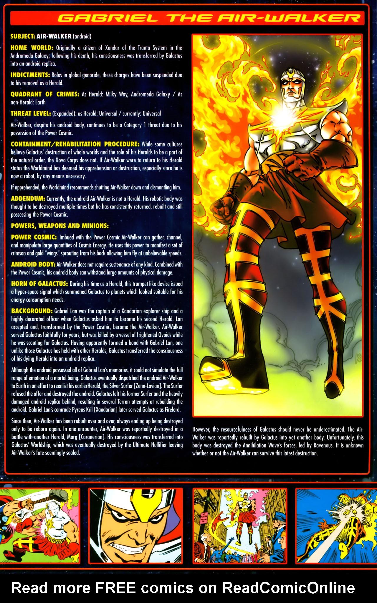 Read online Annihilation:  The  Nova Corps Files comic -  Issue #Annihilation:  The  Nova Corps Files Full - 15