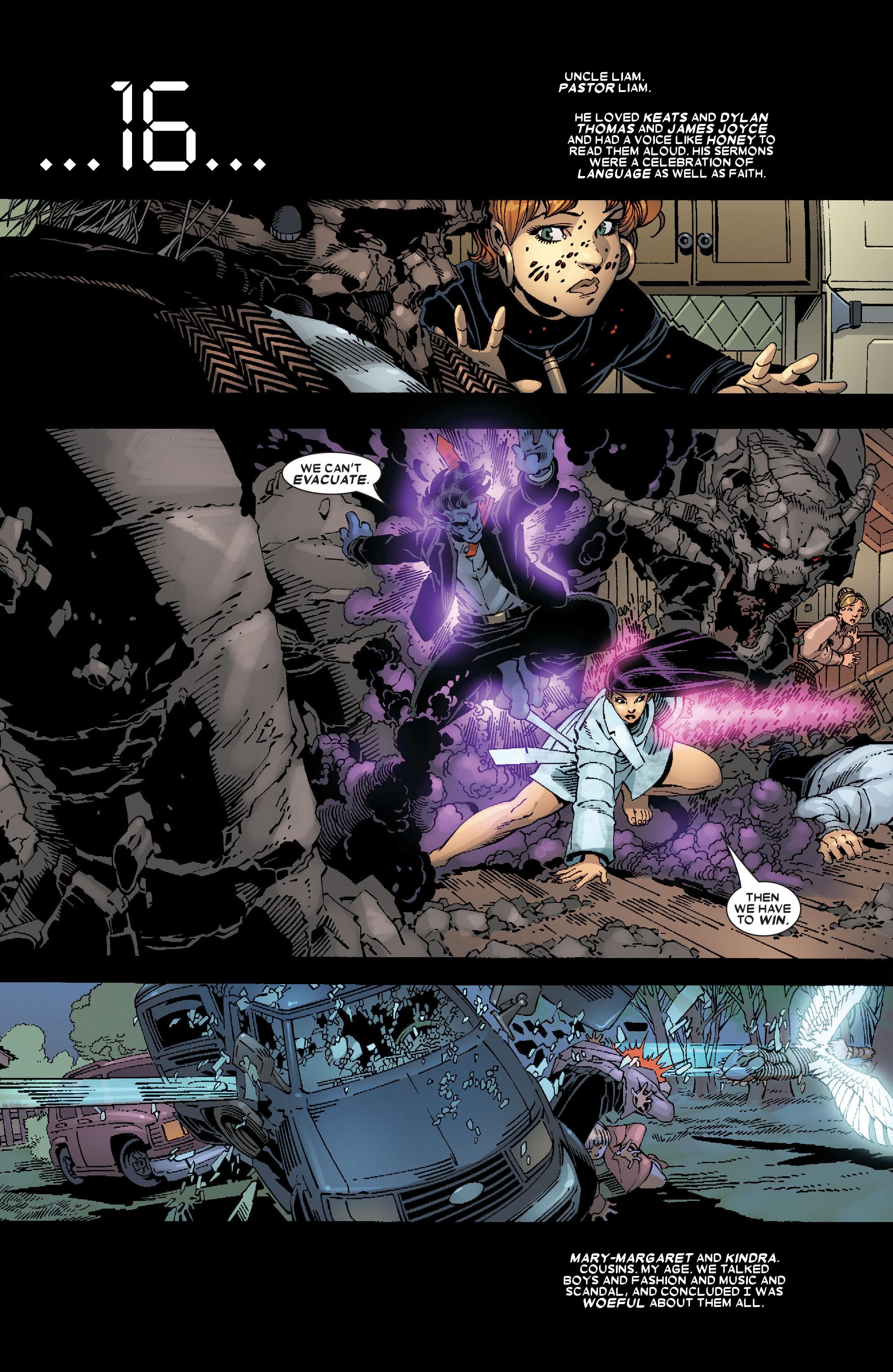 Read online Uncanny X-Men (1963) comic -  Issue #467 - 14