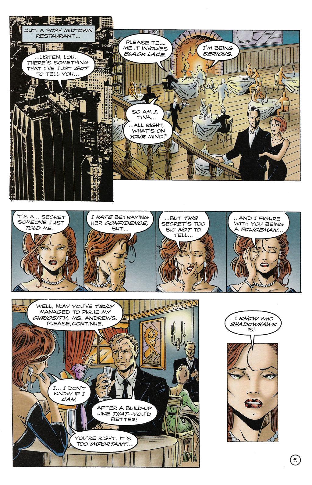 Read online ShadowHawk comic -  Issue #16 - 8