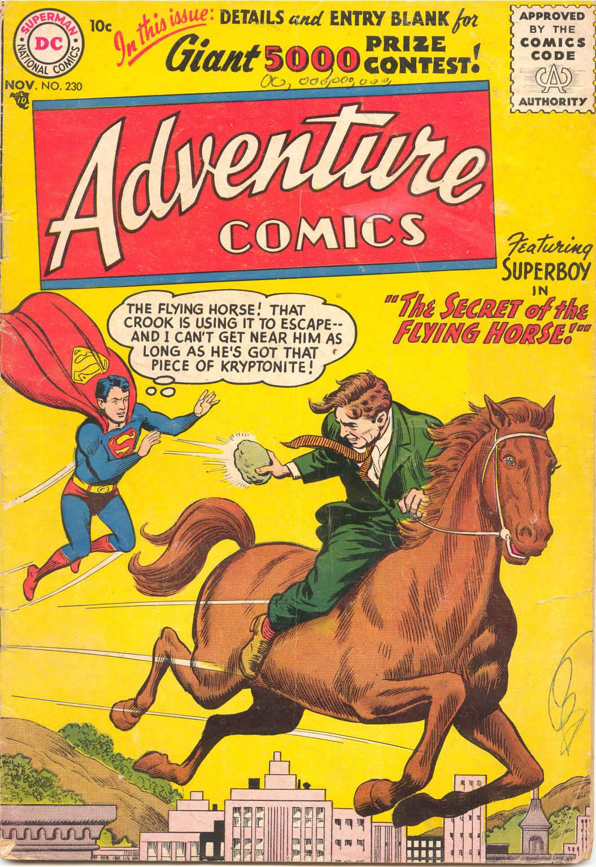 Read online Adventure Comics (1938) comic -  Issue #230 - 1